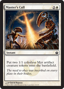 Masters Call - Foil