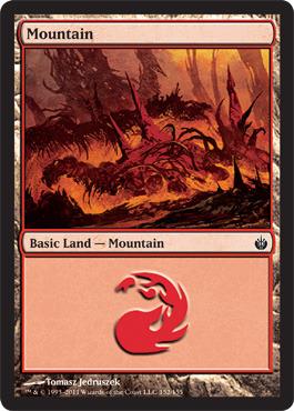 Mountain (152) - Foil