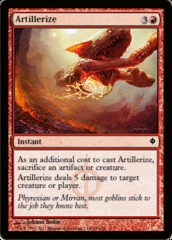 Artillerize - Foil on Channel Fireball