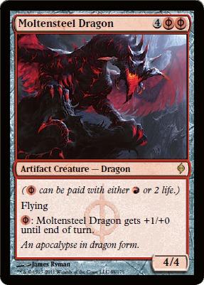 Moltensteel Dragon - Foil