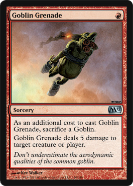Goblin Grenade - Foil