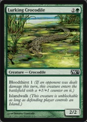Lurking Crocodile - Foil