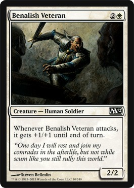 Benalish Veteran - Foil