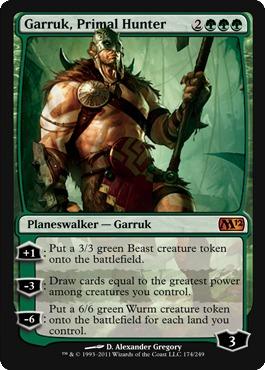 Garruk, Primal Hunter - Foil