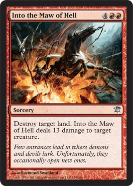 Into the Maw of Hell - Foil