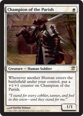 Champion of the Parish - Foil