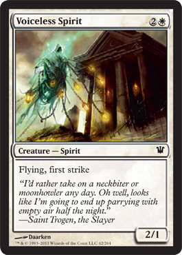 Voiceless Spirit - Foil