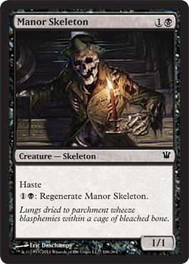 Manor Skeleton - Foil