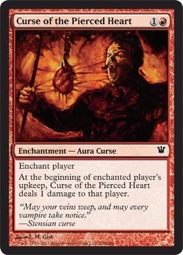 Curse of the Pierced Heart - Foil