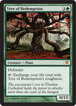 Tree of Redemption - Foil