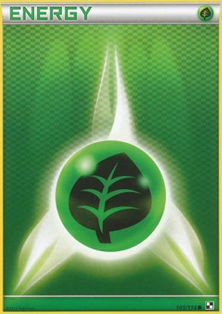 Grass Energy - 105/114 - Common - Reverse Holo