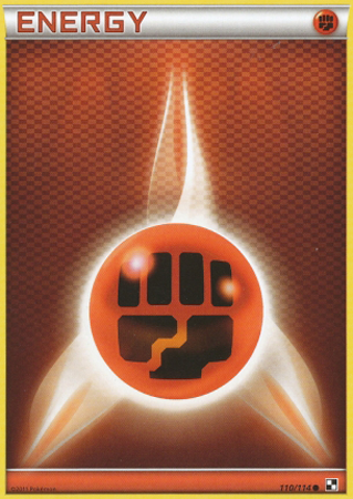 Fighting Energy - 110/114 - Common - Reverse Holo
