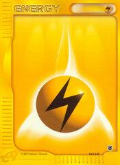 Lightning Energy - 163/165 - Common - Reverse Holo