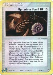 Mysterious Fossil - 91/100 - Common - Reverse Holo