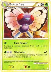 Butterfree - 16/123 - Rare - Reverse Holo on Channel Fireball