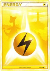 Lightning Energy - 118/123 - Common - Reverse Holo