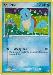 Squirtle - 82/112 - Common - Reverse Holo