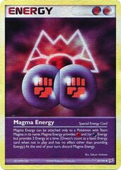 Magma Energy - 87/95 - Uncommon - Reverse Holo