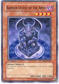 Barrier Statue of the Abyss - CDIP-EN018 - Common - Unlimited Edition
