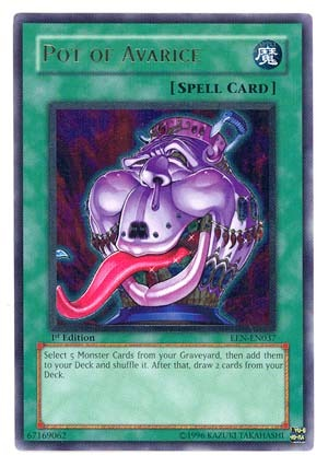 Pot of Avarice - EEN-EN037 - Ultimate Rare - Unlimited Edition