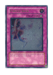 Forced Back - Ultimate - EOJ-EN060 - Ultimate Rare - Unlimited