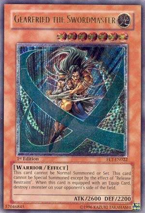 Gearfried the Swordmaster - FET-EN022 - Ultimate Rare - Unlimited Edition