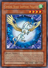 Crystal Beast Sapphire Pegasus - FOTB-EN007 - Ultra Rare - Unlimited Edition on Channel Fireball