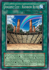 Ancient City - Rainbow Ruins - FOTB-EN045 - Rare - Unlimited Edition on Channel Fireball