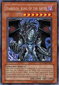 Diabolos, King of the Abyss - FOTB-EN061 - Secret Rare - Unlimited Edition