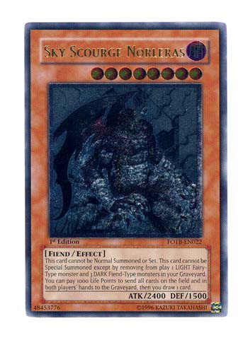 Sky Scourge Norleras - FOTB-EN022 - Ultimate Rare - Unlimited Edition