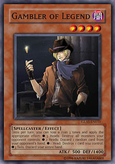 Gambler of Legend - GLAS-EN031 - Common - Unlimited Edition