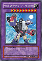 Super Vehicroid - Stealth Union - GLAS-EN041 - Secret Rare - Unlimited Edition