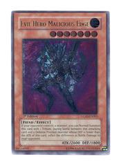 Evil Hero Malicious Edge - Ultimate - GLAS-EN003 - Ultimate Rare - Unlimited