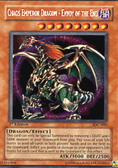 Chaos Emperor Dragon - Envoy of the End - IOC-000 - Secret Rare - Unlimited Edition