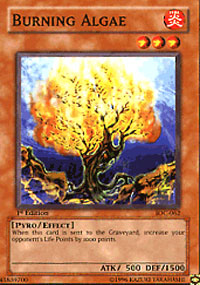 Burning Algae - IOC-062 - Common - Unlimited Edition