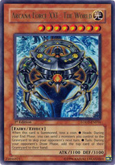 Arcana Force XXI - The World - LODT-EN016 - Ultra Rare - Unlimited Edition on Channel Fireball