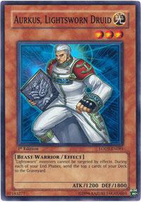 Aurkus, Lightsworn Druid - LODT-EN081 - Super Rare - Unlimited Edition