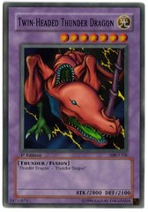 Twin-Headed Thunder Dragon - MRD-120 - Super Rare - Unlimited Edition