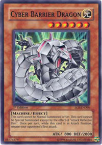 Cyber Barrier Dragon - SOI-EN006 - Super Rare - Unlimited Edition