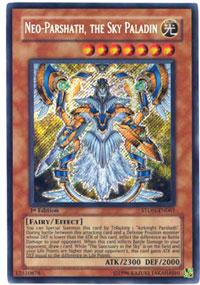 Neo-Parshath, the Sky Paladin - STON-EN061 - Secret Rare - Unlimited Edition