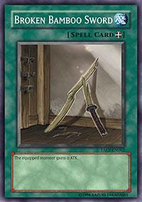 Broken Bamboo Sword - TAEV-EN062 - Common - Unlimited Edition