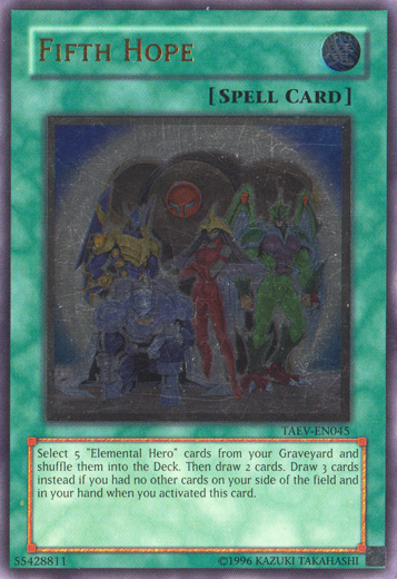 Fifth Hope - TAEV-EN045 - Ultimate Rare - Unlimited Edition