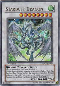 Stardust Dragon - TDGS-EN040 - Ultra Rare - Unlimited Edition