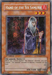 Hand of the Six Samurai - TDGS-EN085 - Secret Rare - Unlimited Edition