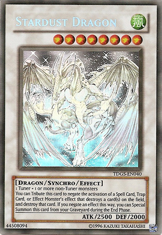 Stardust Dragon - Ghost Rare - TDGS-EN040  - Ghost Rare - Unlimited