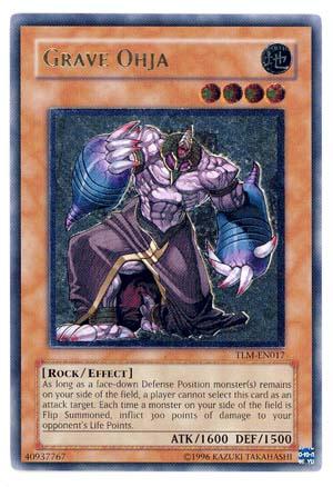 Grave Ohja - TLM-EN017 - Ultimate Rare - Unlimited Edition