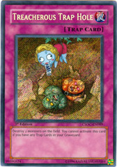 Treacherous Trap Hole - CSOC-EN089 - Secret Rare - Unlimited Edition