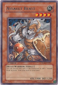 Assault Beast - CRMS-EN024 - Rare - Unlimited Edition