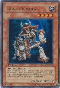 Bone Crusher - CRMS-EN083 - Ultra Rare - Unlimited Edition