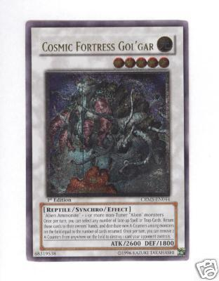 Cosmic Fortress GolGar - CRMS-EN044 - Ultimate Rare - Unlimited Edition